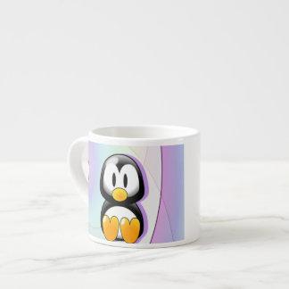 Adorable Cartoon Penguin Espresso Cup