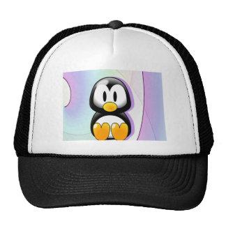 Adorable Cartoon Penguin Trucker Hat