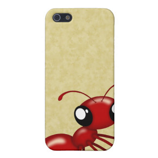 Adorable Cartoon Red Ants iPhone 4 Speck Case