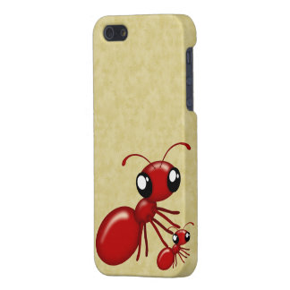 Adorable Cartoon Red Ants iPhone Case