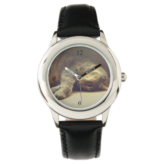 Adorable Cat Wristwatch