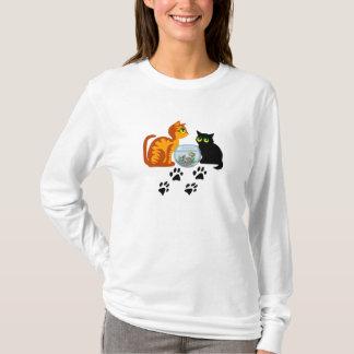 Adorable Cats At Play T-Shirt