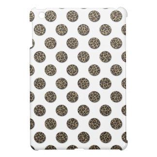 Adorable charming leopard print polka dots iPad mini case