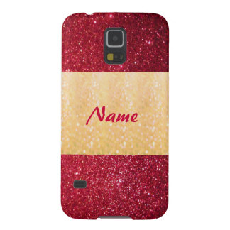 Adorable cheerful charming glam girly glittery galaxy s5 case