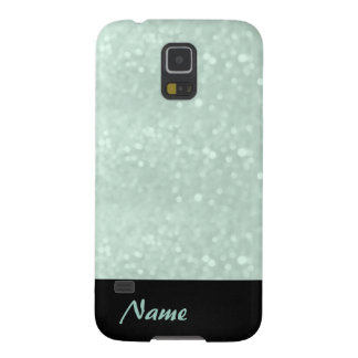Adorable cheerful charming glam girly glittery galaxy s5 cover
