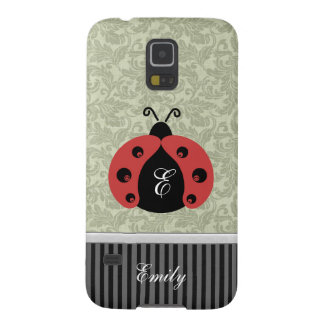 Adorable cheerful cute girly ladybug case for galaxy s5