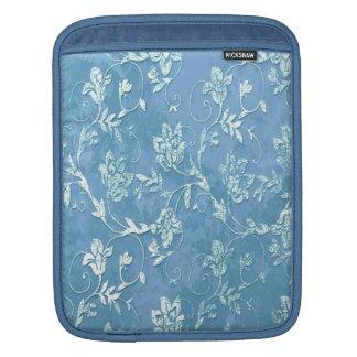 Adorable chic elegant vintage floral iPad sleeve