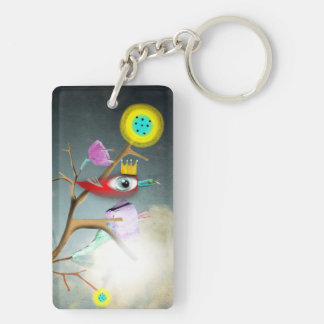 Adorable Children's Book Illustrations on Acrylic Keychain