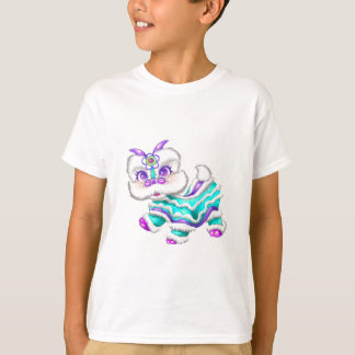 Adorable Chinese New Year Dragon 2012 Teal Blue T-Shirt