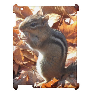 Adorable Chipmunk with Peanut iPad Covers