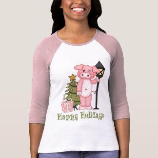 Adorable Christmas Pig Tees and Gifts