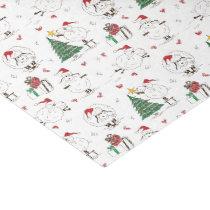 Adorable Christmas Sheep Tissue Paper