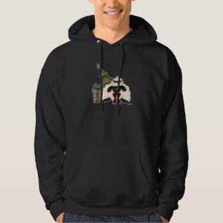 adorable christmas time sheep hooded pullovers