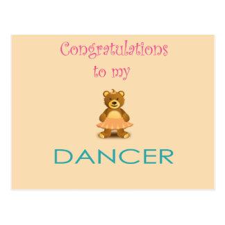 Adorable Congratulations Dancer Gift Cards