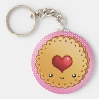 Adorable cookie keychain