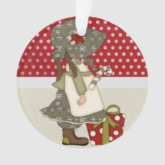 Adorable Country Christmas Rag Doll