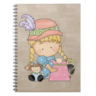Adorable Country Doll Notebook