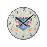 Adorable Country Goose Clock