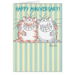 ADORABLE COUPLE GREETING CARD