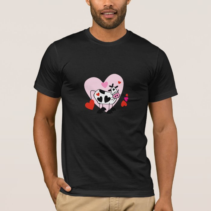 Adorable Cow Hearts T-Shirt