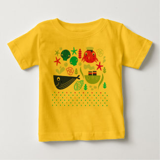 Adorable creative T-Shirt Yellow with Illustration
