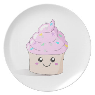 Adorable Cupcake - Girls / Kids cake Plate