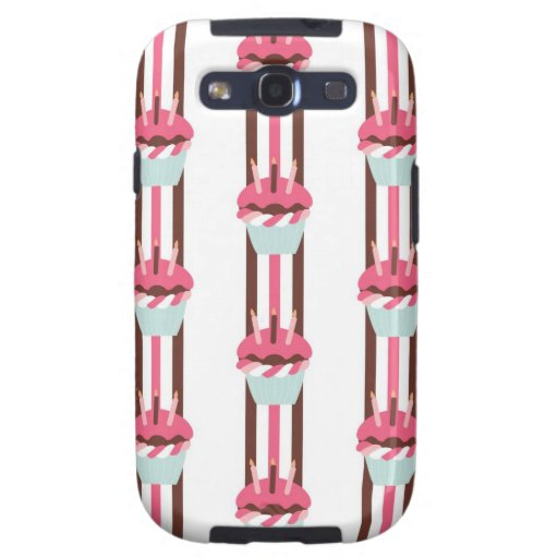 Adorable Cupcake Lover Phone Case Galaxy SIII Cases