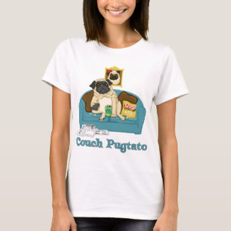 Adorable Customizable Couch Pugtato Tees, Gifts T-Shirt