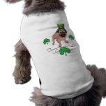 Adorable Customizable St. Pat's Day Pug Pet Clothing