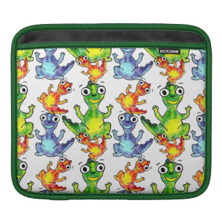 Adorable cute baby dinosaurs doodle picture design sleeve for iPads