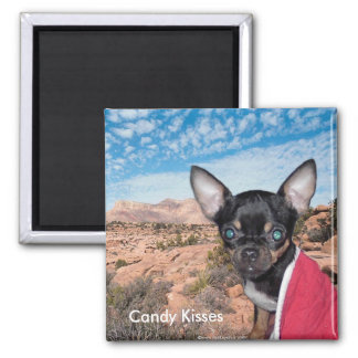 Adorable Cute Candy Kisses Chihuahua Magnets