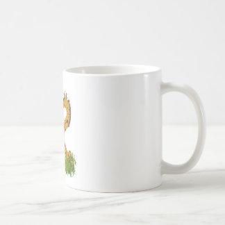 Adorable Cute Love Giraffes Heart Shaped Kissing Coffee Mug