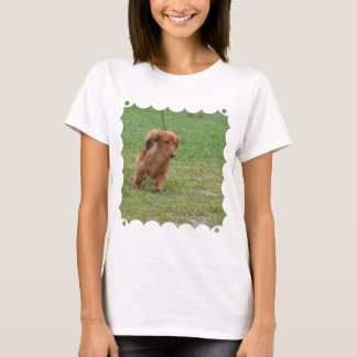 Adorable Dachshund Puppy T-Shirt