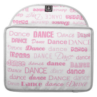 Adorable Dance Macbook Sleeve Case White and Pink Sleeves For MacBooks