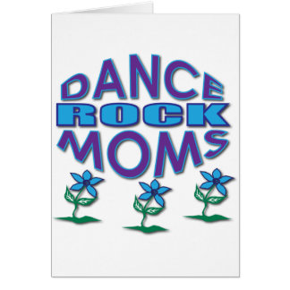 Adorable Dance Moms Rock Gifts Card