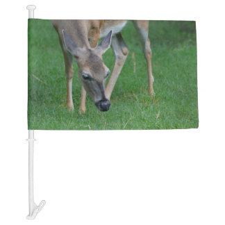 Adorable Deer Car Flag