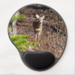 Adorable Deer in the Woods Nature Photography Gel Mouse Pad