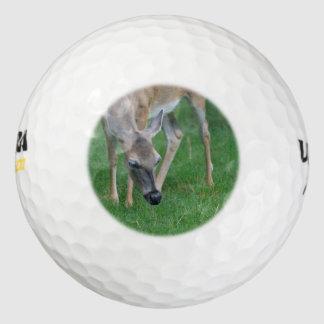 Adorable Deer Pack Of Golf Balls