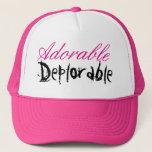"""Adorable Deplorable Hat<br><div class=""""desc"""">Proud to be Deplorable!</div>"""