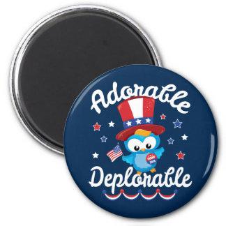 Adorable Deplorable Owl Trump 2016 Magnet