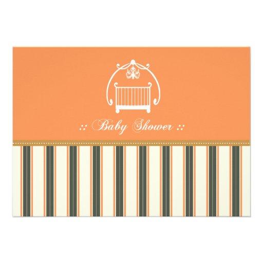 Adorable Designer Baby Shower Invitation :: 13