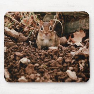 Adorable Digger Chipmunk Mouse Pad