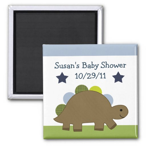 Adorable Dino/Dinosaur Magnet/Keepsake/Party Favor Magnet