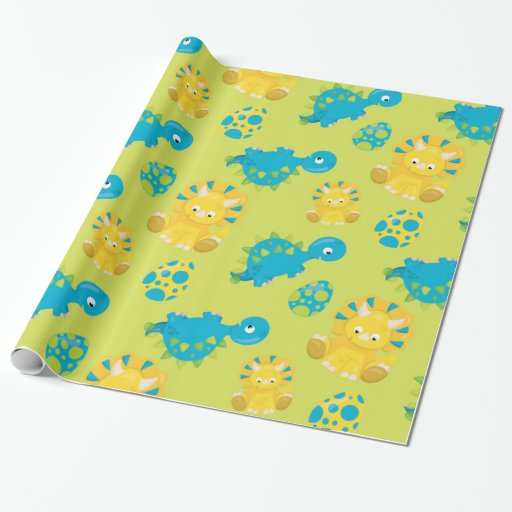 dinosaur wrapping paper Shop t rex dinosaur wrapping paper holiday gift wrap created by wrappingpaper_ personalise it with photos & text or purchase as is.