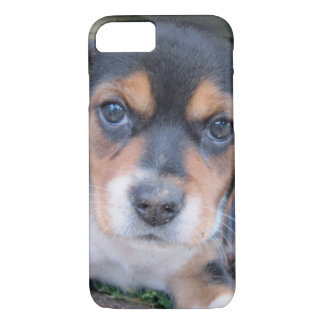 Adorable Dirty Nose Beagle Pup iPhone 8/7 Case