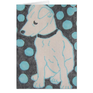 Adorable Doggie Stationery Note Card