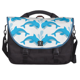 Adorable Dolphins Bag For Laptop