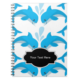 Adorable Dolphins Notebook