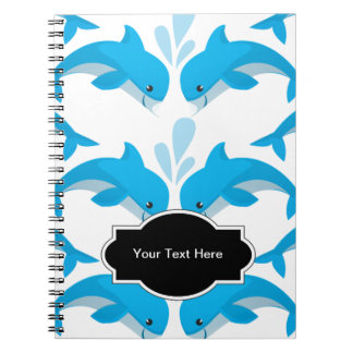 Adorable Dolphins Notebooks