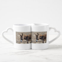 Adorable Donkey Coffee Mug Set